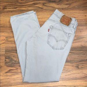 Men's 511 Slim Fit Grey Twill Pants